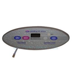 Maquis Spa Topside Control Panel 650 0521